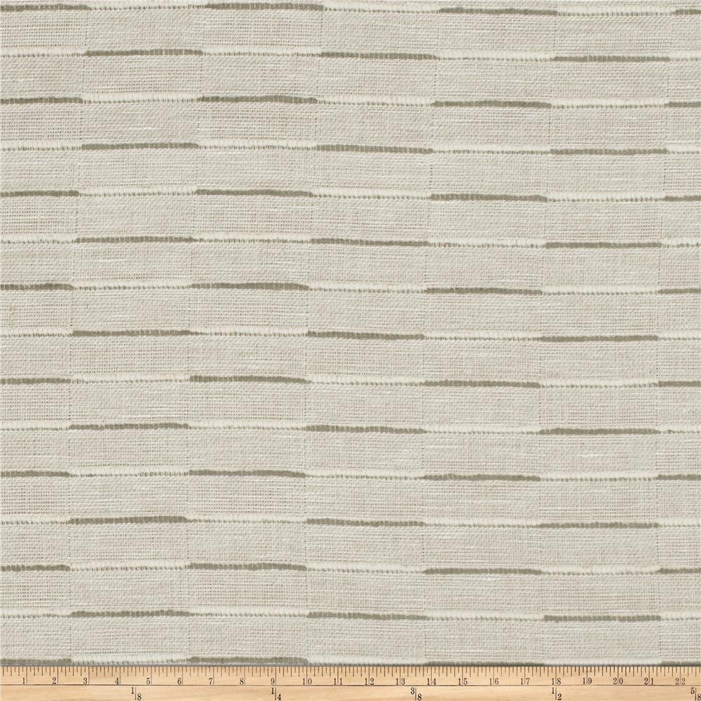 Fabricut Parques Stripe Linen Grey