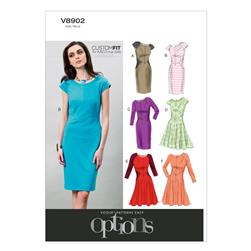 Vogue Misses' Dress Pattern V8902 Size A50
