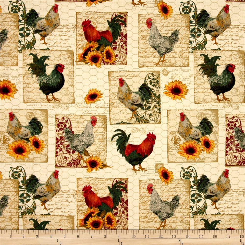Penny Rose French Rooster Main Cream
