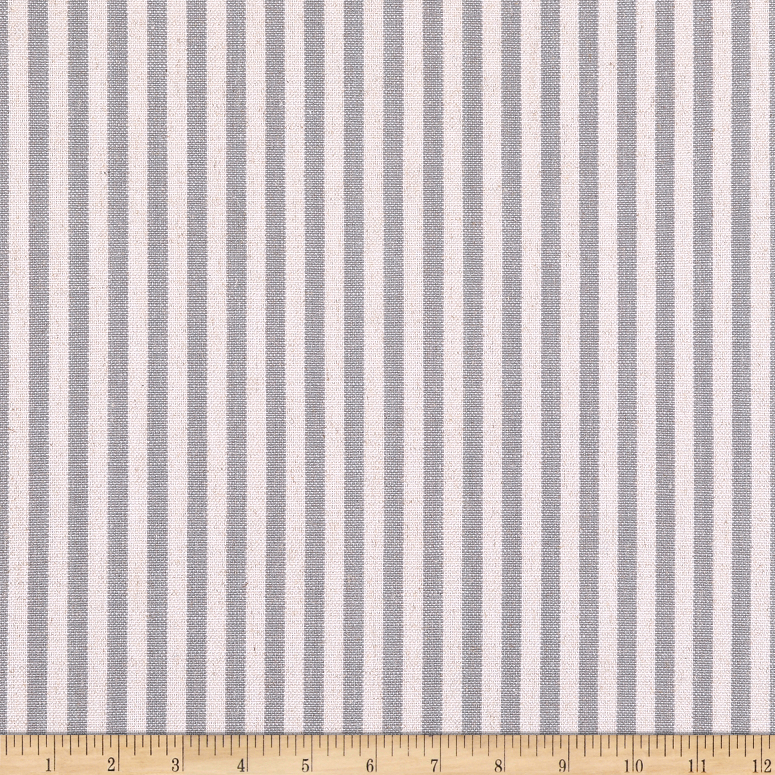 Golding by P/Kaufmann Scout Stripe Grey Fabric by Golding in USA