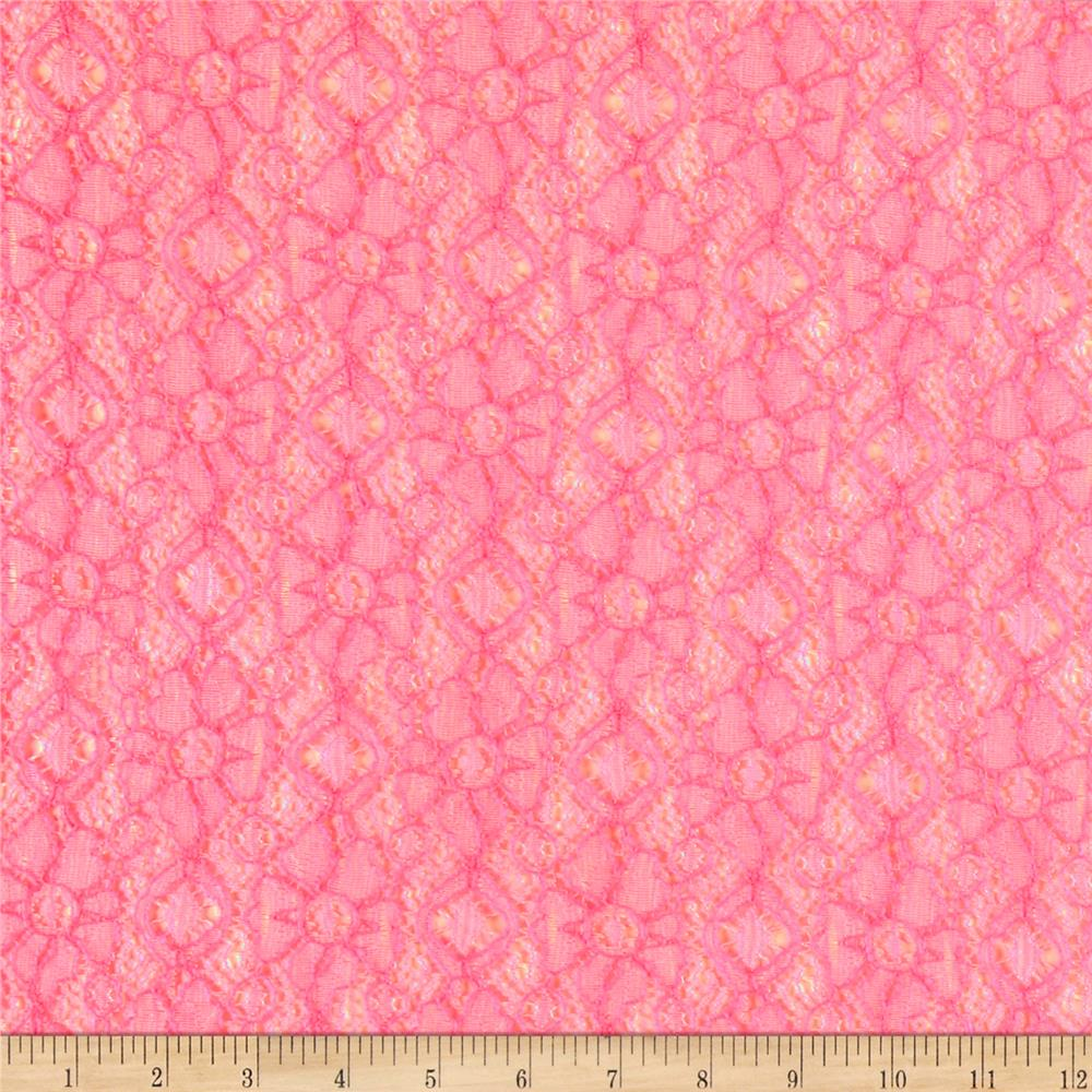 Pink Lace | Fabric.com