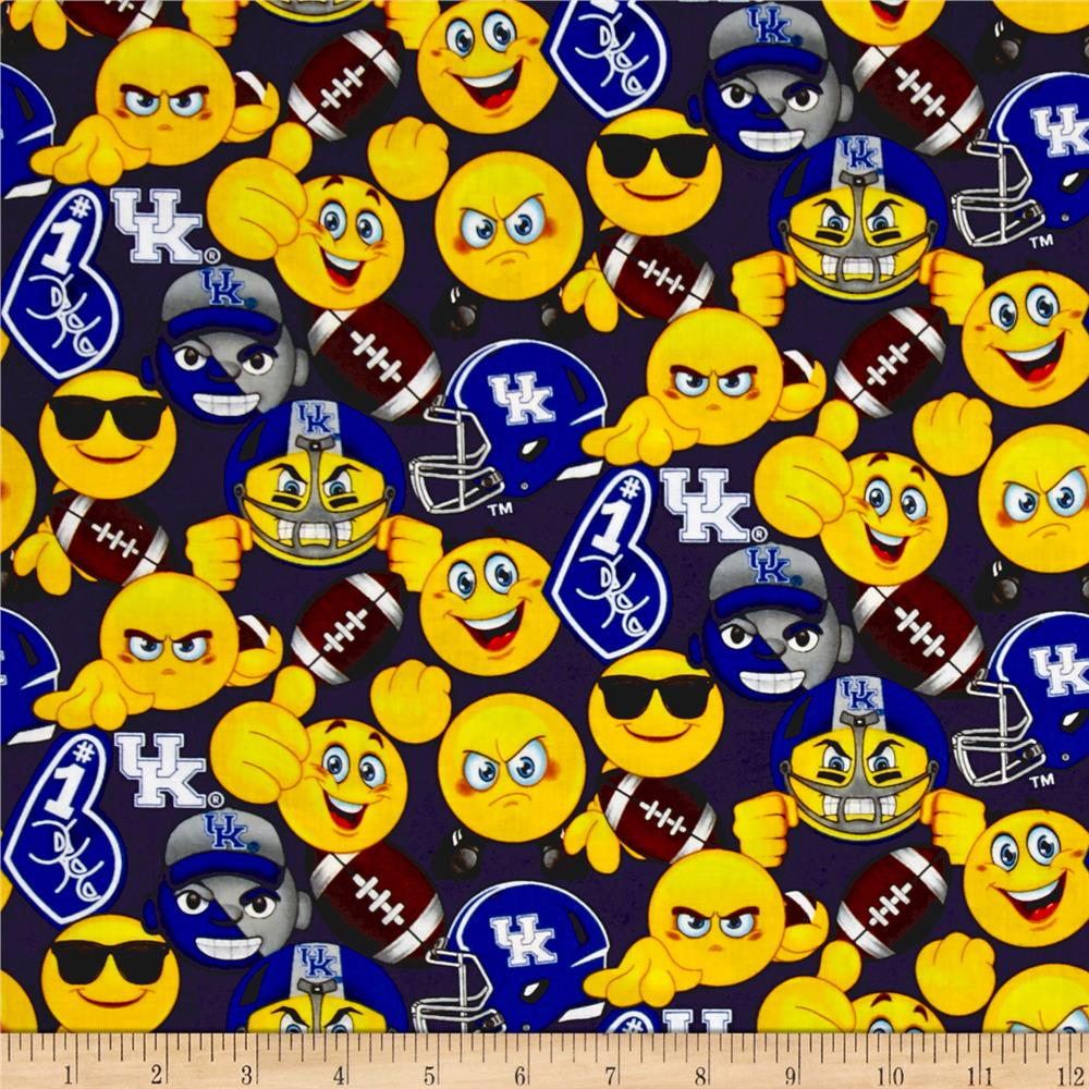 Collegiate Cotton University of Kentucky Emojis