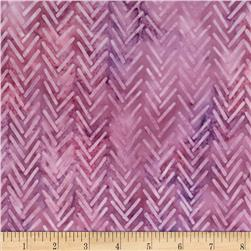 Artisan Batik Geoscapes 3 Geo Chevron Grape