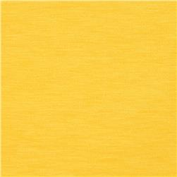 Rayon Spandex Jersey Knit Canary Yellow