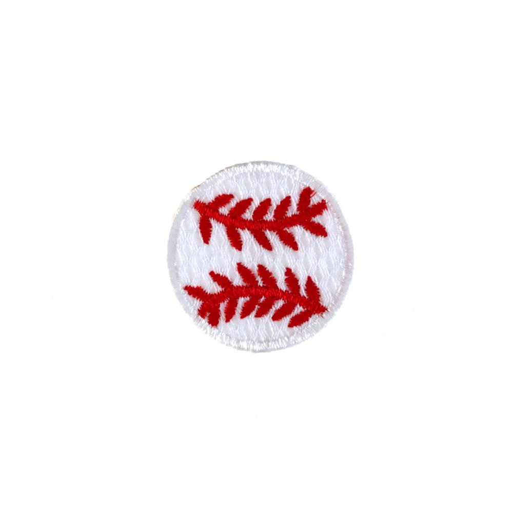 Baseball Small Applique White