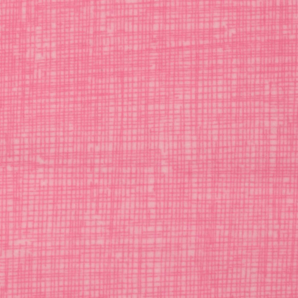 Timeless Treasures Sketch Flannel Sprig Pink