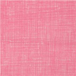 Timeless Treasures Sketch Flannel Sprig Pink Fabric