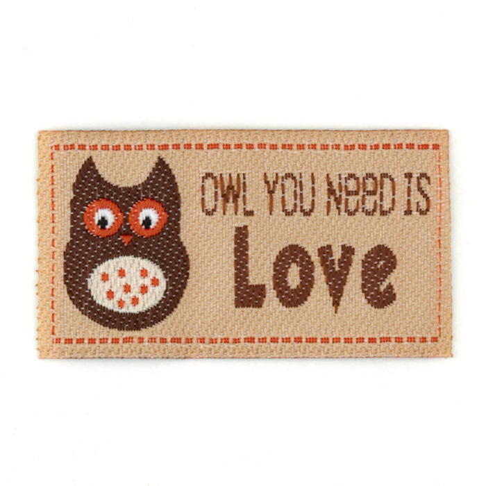 LaMode Lovelabels Owl You Need Is Love