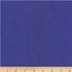 Timeless Treasures Dreaming in Pearle Dots Iris Fabric