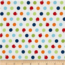 Apple Hill Farm Apple Dots White