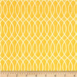 Moda Hugaboo Flannel Laced Lined Sunshine Yellow