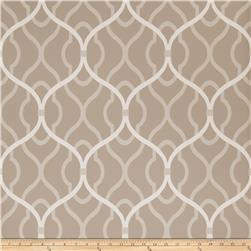 Fabricut 50094w Passa Ogee Wallpaper Shale 02 (Double Roll)
