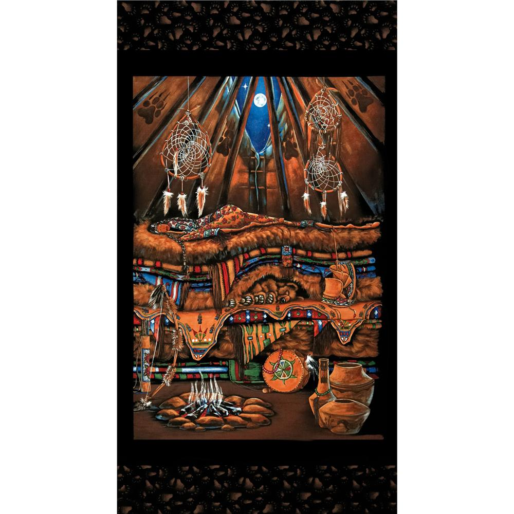 Princess on a Pea Around the World  1st Nations Panel Black