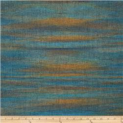 Bartow Andes Woven Dusty Blue/Gold/Aqua/Sage Fabric
