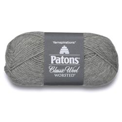 Patons Classic Wool Yarn (00224) Grey Mix