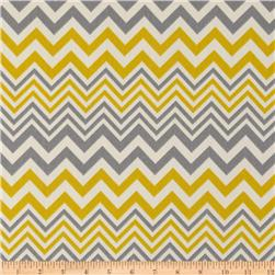 Suburban Home Indoor/Outdoor Zig Zag Grey Fabric
