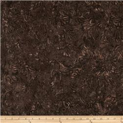 Timeless Treasures Tonga Batik Topaz Leaf Camo Mocha