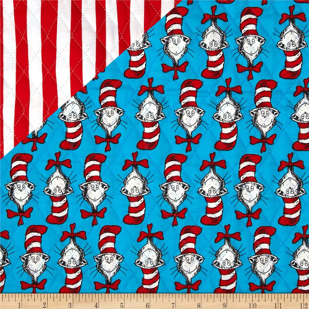 Dr. Seuss Cat in the Hat Cat/Stripe Multi