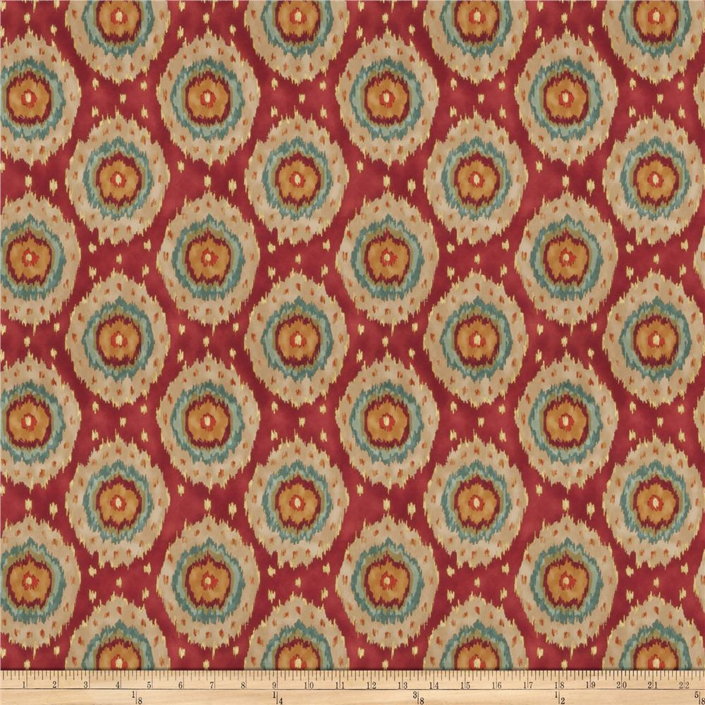 Fabricut Wallace Twill Exotic Red
