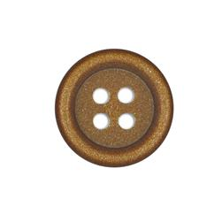 Fashion Button 1 3/8'' Alexis Copper