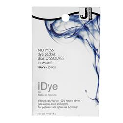 Jacquard iDye Natural Fiber Fabric Dye Navy
