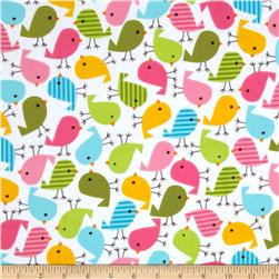 Urban Zoologie Flannel Birds Sweet