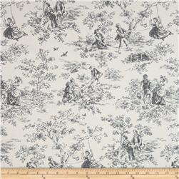 P Kaufmann Kensington Garden Toile Licorice