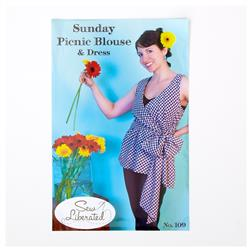Sew Liberated Sunday Picnic Blouse & Dress Pattern