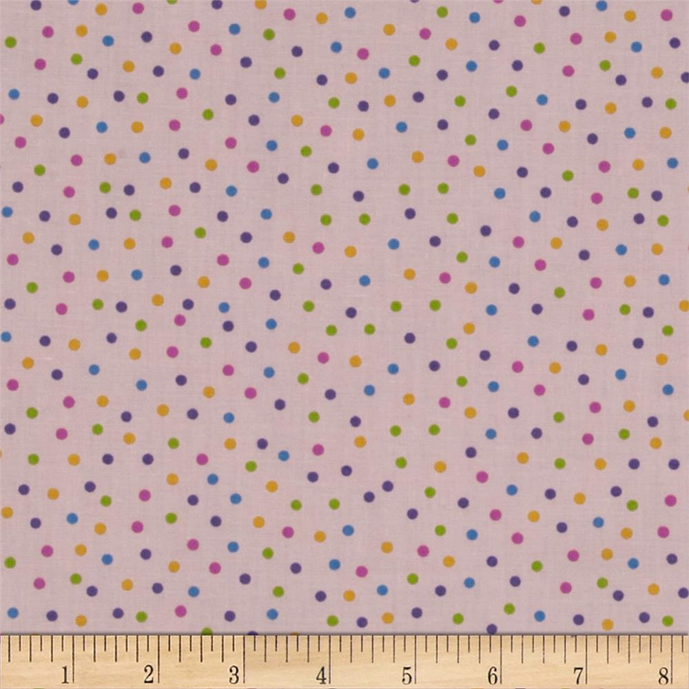 Baby Talk Dots Pink/Multi