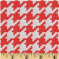 Michael Miller Everyday Houndstooth Clementine