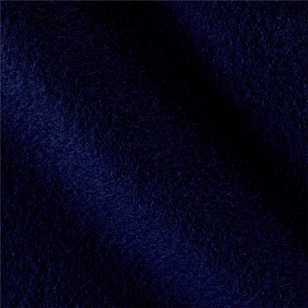 Solid Fleece Deepest Navy Fabric By The Yard