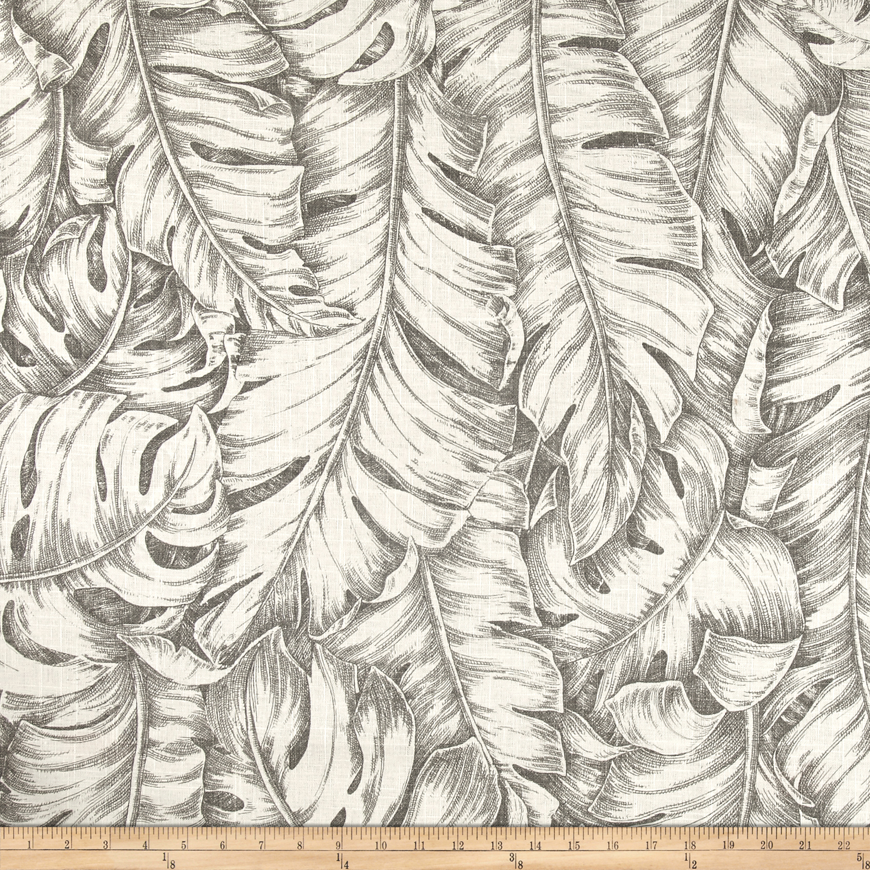 Tommy Bahama Jungle Love Linen Circa Dove Fabric by Waverly in USA