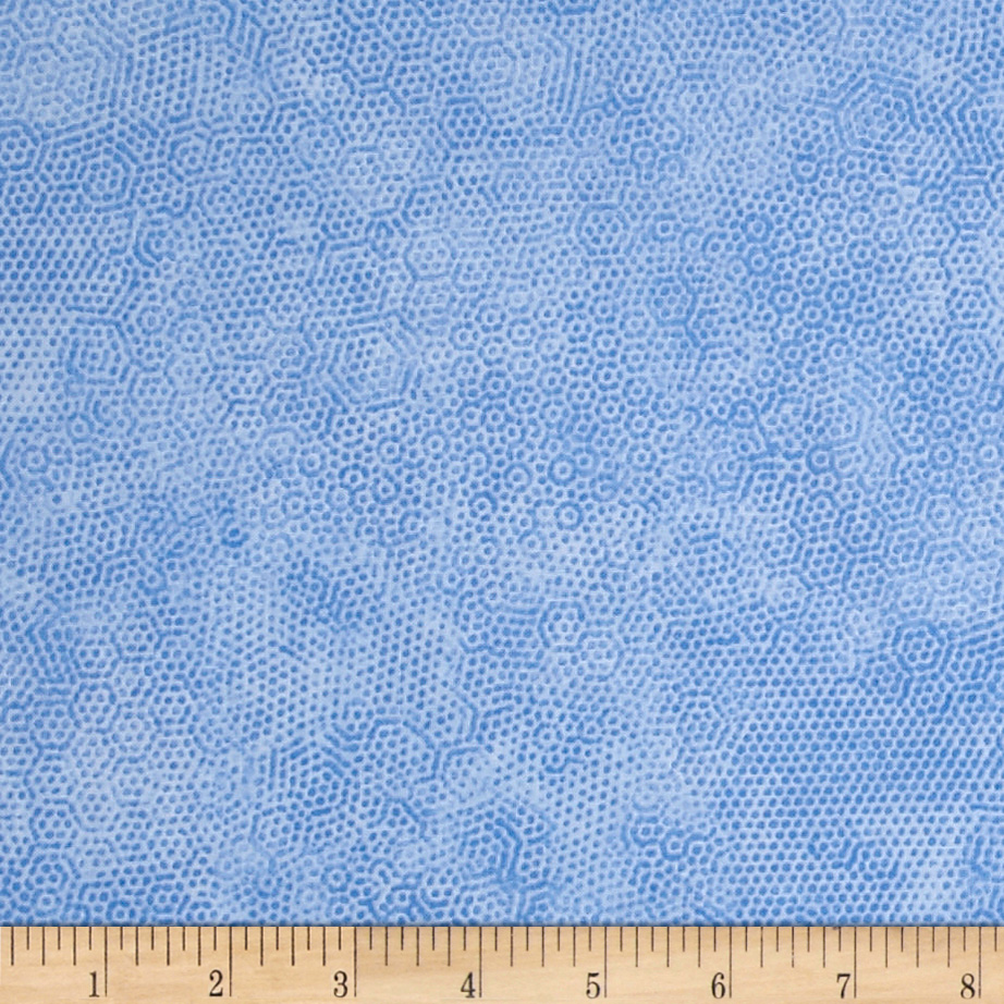 Image of Andover Dimples Wild Blue Yonder Fabric