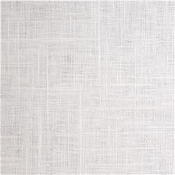 Jaclyn Smith Linen/Rayon Blend White Fabric