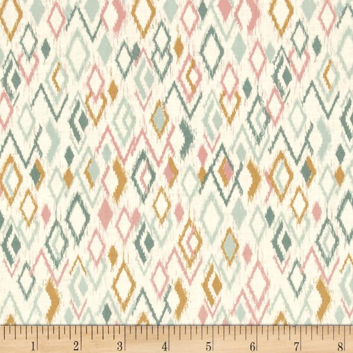 Sophia Ikat Diamonds Multi