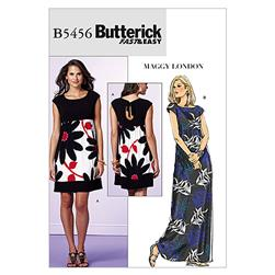 Butterick Misses' Wrap Dress Pattern B4790 Size BB0