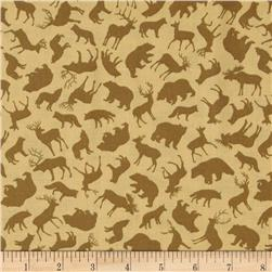 Kanvas Trail Mix Forest Animals Tan