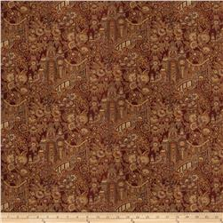 Fabricut Chinoiserie Chenille Ruby