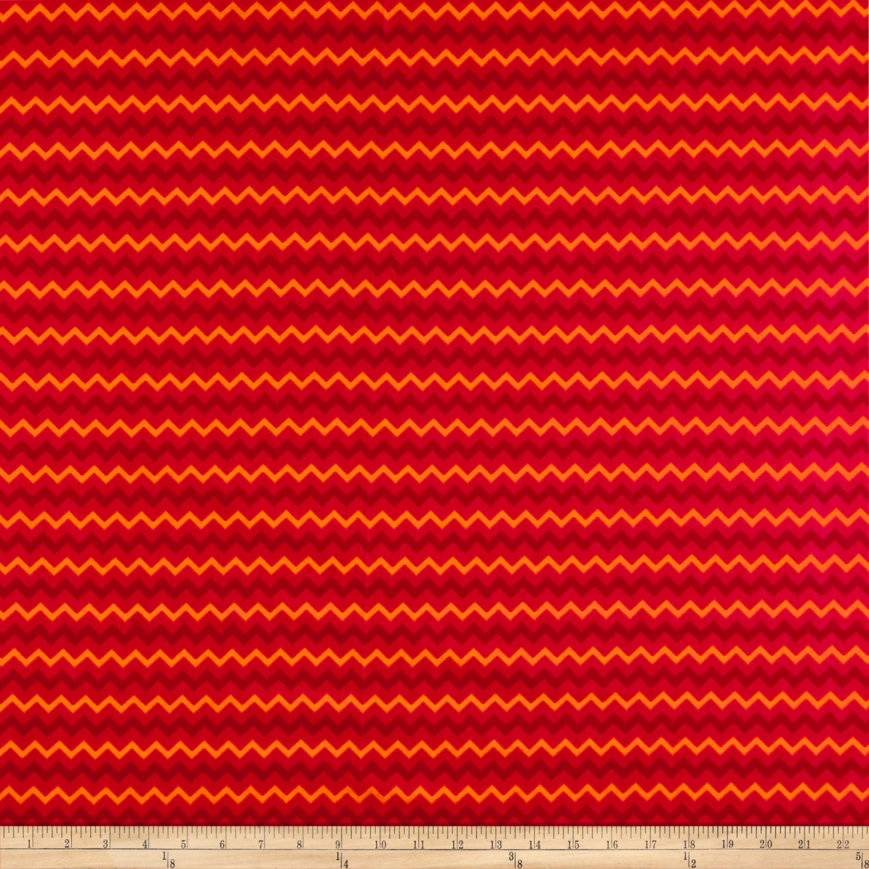Springs Creative Tonal Chevron Flame Fabric