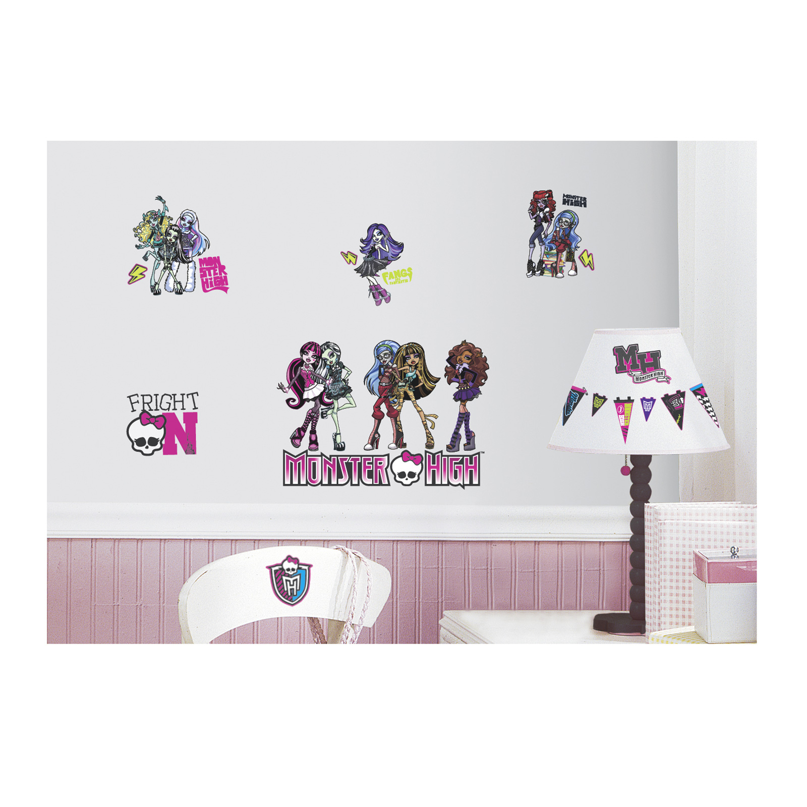 Monster High Wall Decals by Stardom Specialty in USA