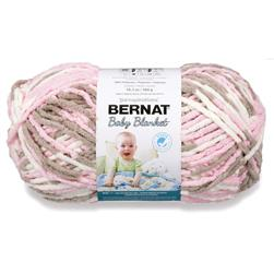 Bernat Baby Blanket  Big Ball Yarn (04421) Little Petunias