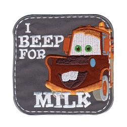 Disney Cars Mater I Beep For Milk Iron On Applique