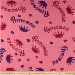 Fleece Princess Pink