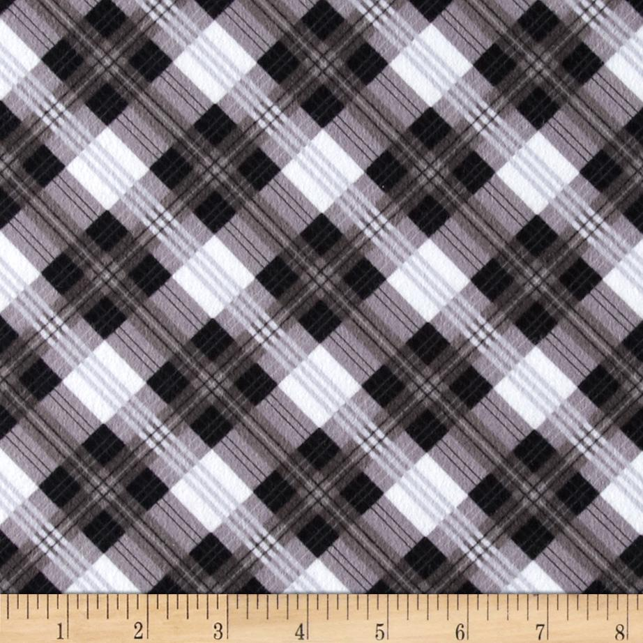 Great Scotts Flannel Mad for Plaid Black/Grey