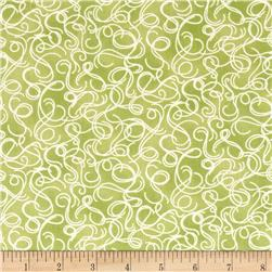 Botanical Society Swirls Pear