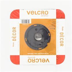 "Velcro Fabric Fusion Tape 1"" x 5 Yds. Black"
