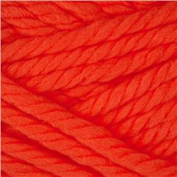 Lion Brand Hometown USA Yarn Neon Orange