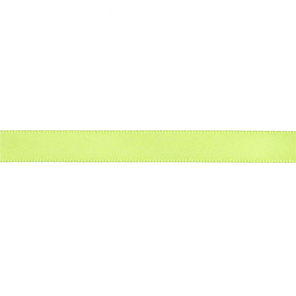 "May Arts 3/8"" Double Face Satin Ribbon Spool Celery"