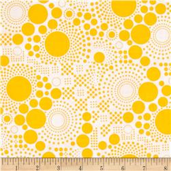 Riley Blake Hipster Pop Dot Yellow