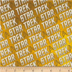 Star Trek Logo Words Yellow